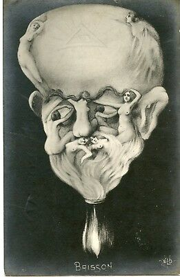Cp /  Arcimboldesque / Archiboldo / Caricature / Caricature / Brisson