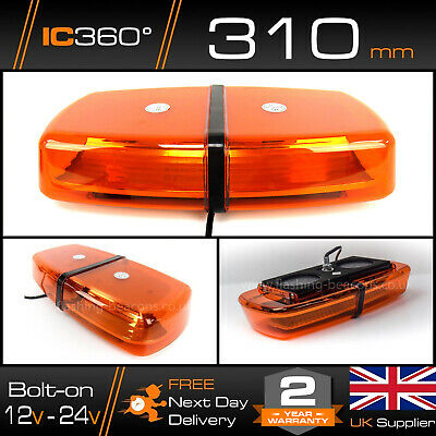 Chapter 8 Mini Single Bolt LED Warning Beacon Recovery Lightbar 12v - 24v