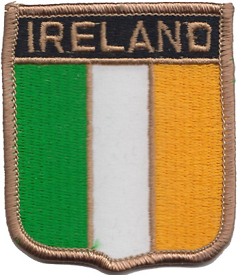 Ireland Flag Embroidered Patch Badge