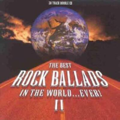 Various Artists : Best Rock Ballads Ever II CD Expertly Refurbished Product