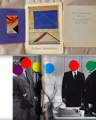 3 Art Book JOHN BALDESSARI Telephone Book '88 RICHARD DIEBENKORN ELLSWORTH KELLY