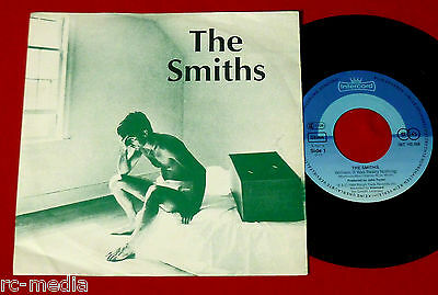 """THE SMITHS -William It Was Really Nothing- German 7"""" Pic Sleeve on Intercord"""