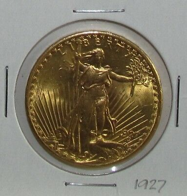 1927 Saint Gaudens Double Eagle - Uncirculated