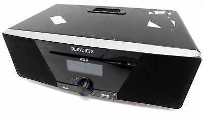 ROBERTS MP-SOUND 53 CD/USB/SD/DAB/FM RDS Sound System With iPod Dock Black - T19