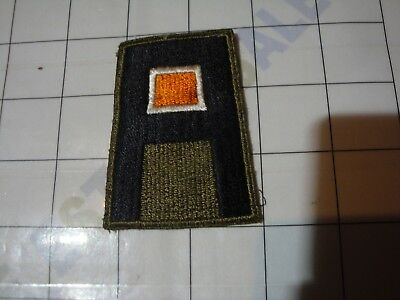 wwii WW2 uniform PATCH embroider US Army First 1 1st SIGNAL CORPS green-back
