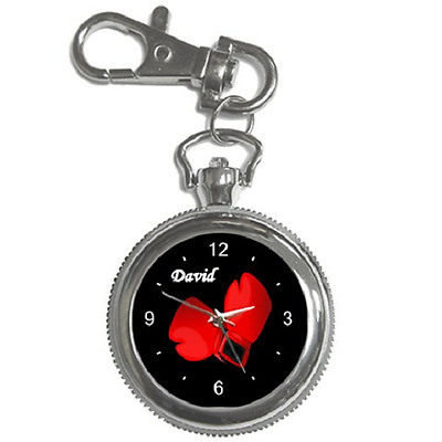 Boxing Gloves Boxer Keychain Watch - Choose Any Name You Like *great Gift Idea*