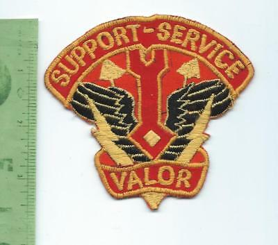US Army 34th Support Battalion    patch  Vietnam theater made