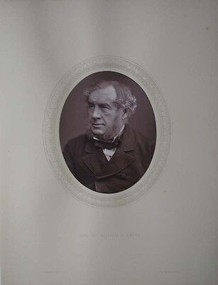 1877 Sir William Grove Welsh Judge & Physical Scientist Professor Of Physics