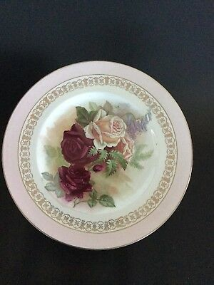 Clarice Cliff - Roses Plate - Newport Pottery England