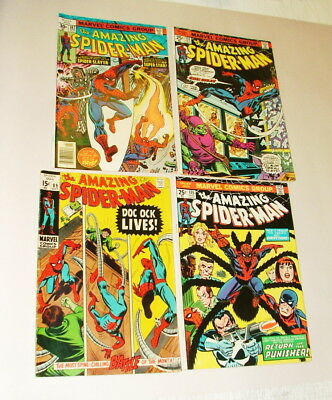 %  1960-70's Thae Amazing Spider-Man  Comic Book Collection  Lot S-12