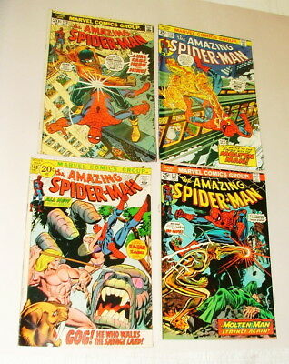 %  1970's Thae Amazing Spider-Man  Comic Book Collection  Lot S-14