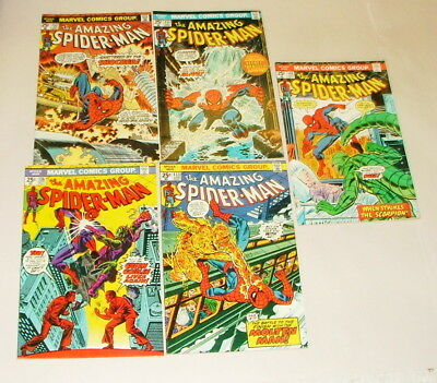 % 1970's The Amazing Spider-Man  Comic Book Collection  Lot S-50