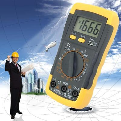 Electrical LCD Digital Multimeter Ohmmeter Multi OHM Tester AC DC Voltmeter A>