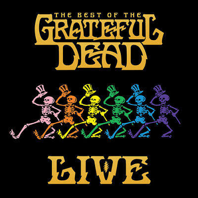 The Grateful Dead : The Best of the Grateful Dead Live CD (2018) ***NEW***