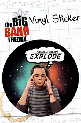 Big Bang Theory, The - Explode - Sticker Aufkleber - Größe Ø9 cm