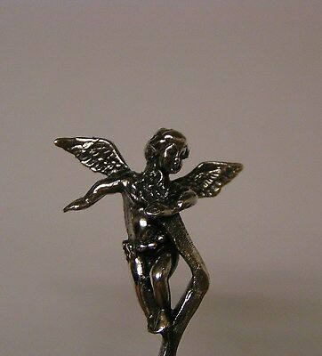 Salt Spoon Sterling Silver ( Angel   )