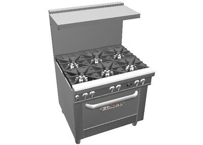 "Southbend 4363D Ultimate 36"" Range w/ 6 Star Burners & Standard Oven"
