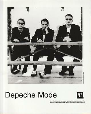 Depeche Mode EXCITER Official US 2001 Promotional b/w 8x10 Press Photo
