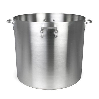 Thunder Group ALSKSP014 160qt Heavy Duty Aluminum Stock Pot w/ Mirror Finish