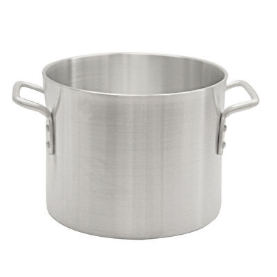 Thunder Group ALSKSP002 12qt Heavy Duty Aluminum Stock Pot w/ Mirror Finish