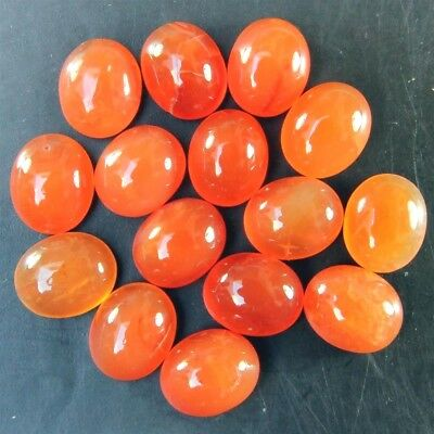 Wholesale Lot 11x9 to 16x12mm Oval Damaged Carnelian Loose Calibrated Gemstone