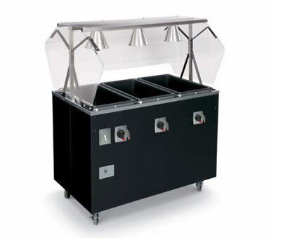 """Vollrath T39769 Affordable Portable™ 46"""" (3) Well Hot Food Station Deluxe"""