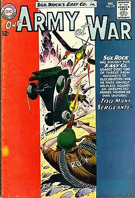 OUR ARMY AT WAR #137 (1963) DC Comics Sgt. Rock  VG+/FINE-