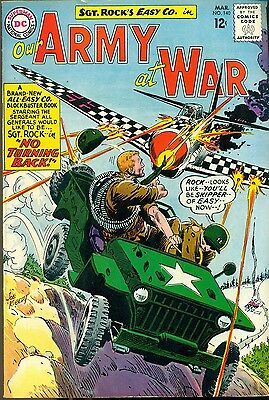 OUR ARMY AT WAR #140 (1964) DC Comics 3rd all Sgt. Rock issue FINE