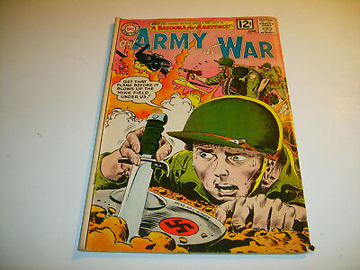 DC Our Army At War #119   1962   VG