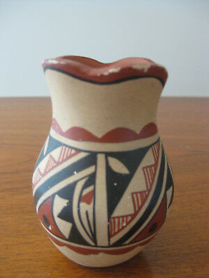 Hopi As Is As Found Signed Hand Painted Pot Pottery