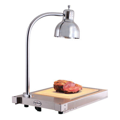 Alto-Shaam CS-100 Buffet Carving Station w/ Single Heat Lamp & Heated Base