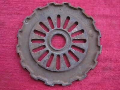 Vintage Ih International Cast Iron 1978A Seed Planter Plates Rings Steampunk