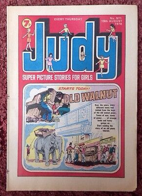 JUDY COMIC. 19TH AUGUST 1978. No. 971. VFN+ (1