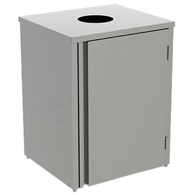 """Lakeside 3310 26-1/2""""Wx23-1/4""""Dx34-1/2""""H 35 Gallon Waste Station"""