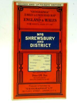 G (Geographia 2 Miles to 1 Inch Road Map of England and Wales - 1935) (ID:97125)