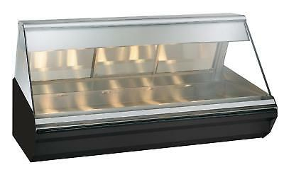 """Alto-Shaam Halo Heat® 72"""" Countertop Heated Display Case - Stainless"""