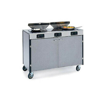 "Lakeside 2085 48""x22""x40-1/2"" Creation Express Station Mobile Cooking Cart"