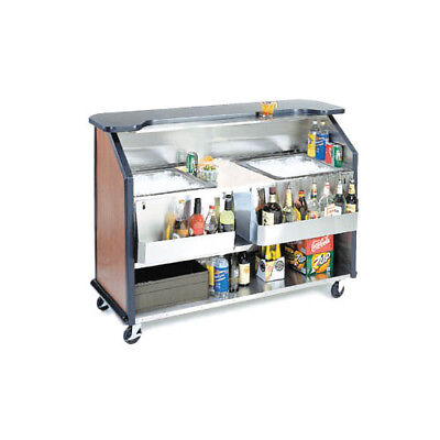 """Lakeside 886 63-1/2"""" Portable Bar with Double Ice Bins"""