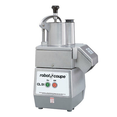 Robot Coupe CL51 Commercial Vegetable Food Processor 2 Disc & 2 Hoppers