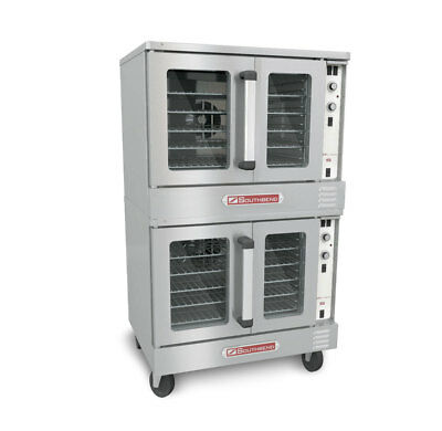 Southbend ES/20SC Electric Double Stack Convection Oven Standard Depth
