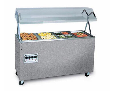 """Vollrath 39710 Affordable Portable 60"""" (4) Well Cafeteria Station 120v"""