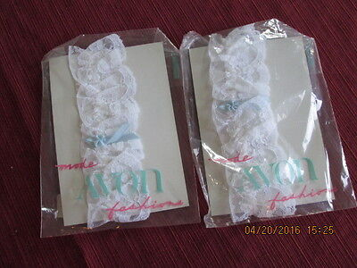 2 AVON tossing garters NIP 1 for tossing 1 for keepsake