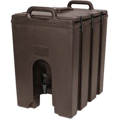 Cambro 1000LCD131 Camtainer 11-3/4 gallon Beverage Carrier - Dark Brown