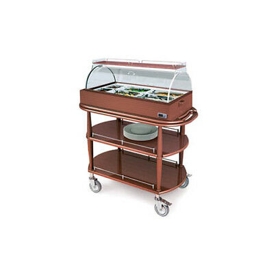 "Lakeside 70375 21-5/8Wx43-3/8""Wx49-7/8""H Spice Hot Meal Cart"
