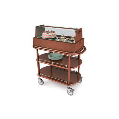 """Lakeside 70355 21-5/8""""Dx43-3/8""""Wx47-1/4""""H Spice Pastry Cart"""