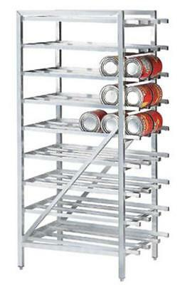 Advance Tabco CR10-162-X Aluminum Full Can Rack Stationary Holds (162) #10 Cans