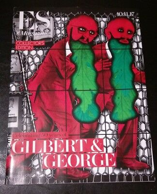 Es Magazine 10/1/17 Collectors Edition Celebrating 50 Years Of Gilbert & George