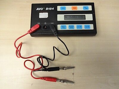 Avo B184 Automatic Lcr Analyser Cased With New Battery Pack