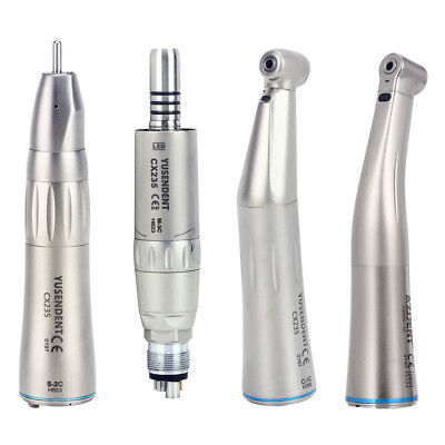 Kavo Style Dental Fiber Optic LED Inner Channel Low Speed Contra Angle Handpiece