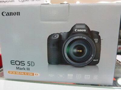 Canon DSLR EOS 5D Mark III 3body+EF 24-105mm IS Lens Kit(OFFICIAL CANON PRODUCT)